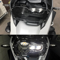 Headlight Protector Grille Cover Clear for BMW R1200 GS Guard R 1200 GS Adventure for BMW R1200GS Adv Accessories Motorcycle