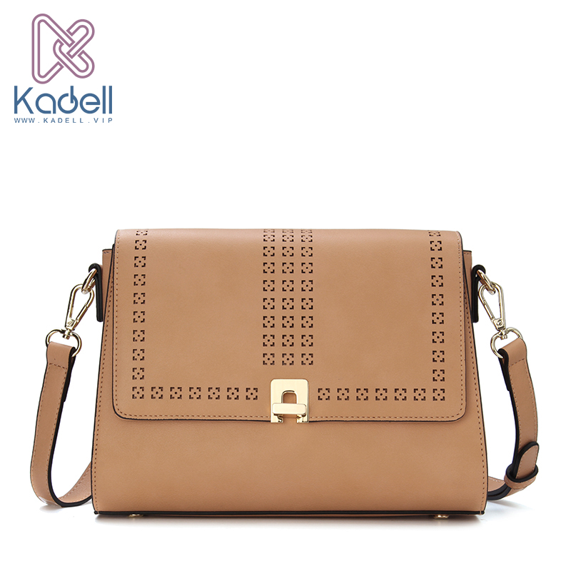 46cbea0fc6c0 Kadell Famous Brand Women Messenger Bag Female Hollow Out Small Flap ...