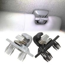 1pc עבור אאודי A1/A3/A4/A5/Q3/Q5 אוטומטי גג מגן שמש קליפ בעל וו Stand ווי רכב רכב פנים אביזרי רכב