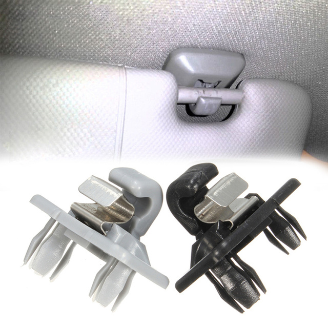 1pc For Audi A1 /A3/A4/A5/Q3/Q5 Auto Roof Sun Visor Clip Holder Hook Stand car hooks Automotive interior car accessories