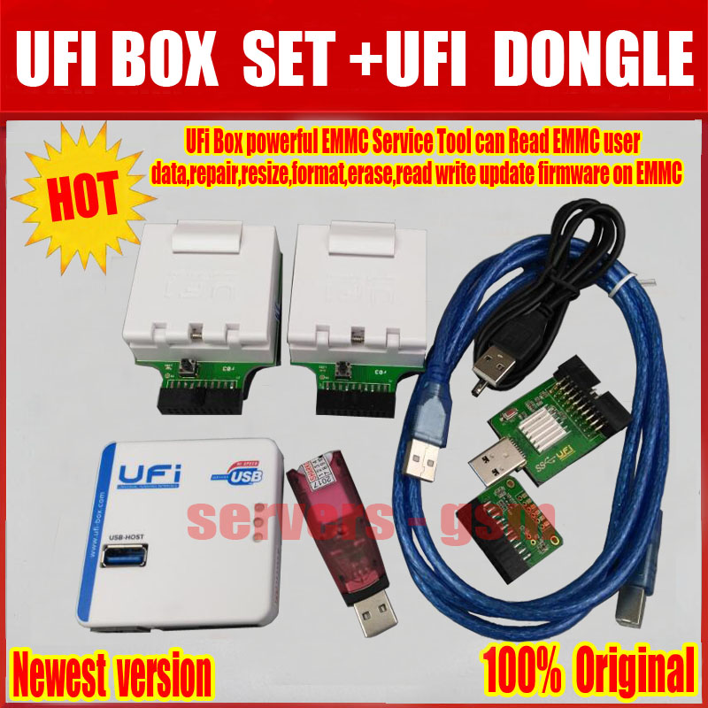 Sale 2019 Newest 100% ORIGINAL UFI BOX powerful EMMC Service Tool+
