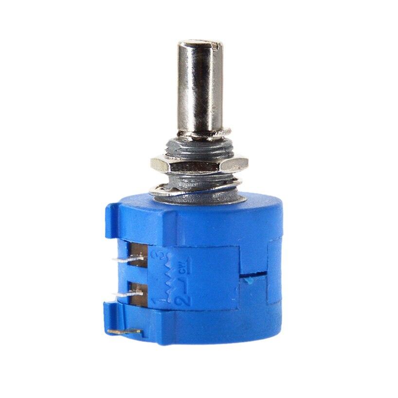 Livraison gratuite 3590S-2-101L 3590S 100R ohm précision potentiomètre multitour 10 anneau résistance réglable