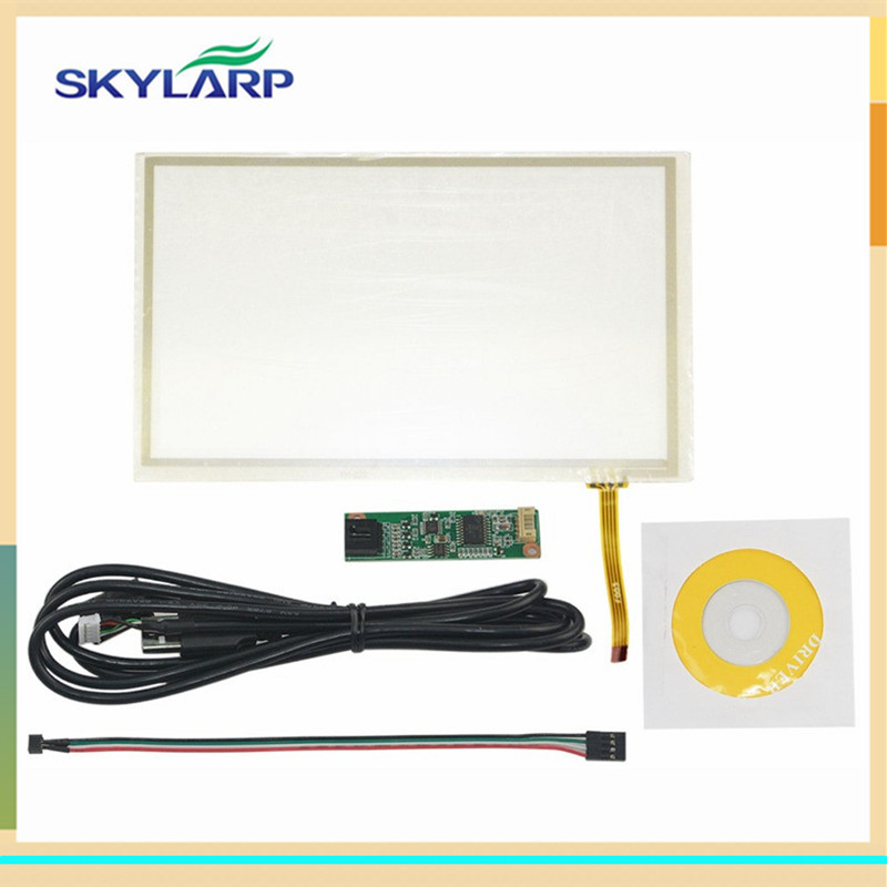 skylarpu 6.2 inch 154mm*92mm 4 Wire Resistive Touch Screen 154*92mm For PW062XS3 digitizer panel Glass Panel + USB Controller skylarpu new 7 inch 4 wire resistive touch screen for at070tn90 at070tn94 at070tn92 digitizer panel glass with usb control kit