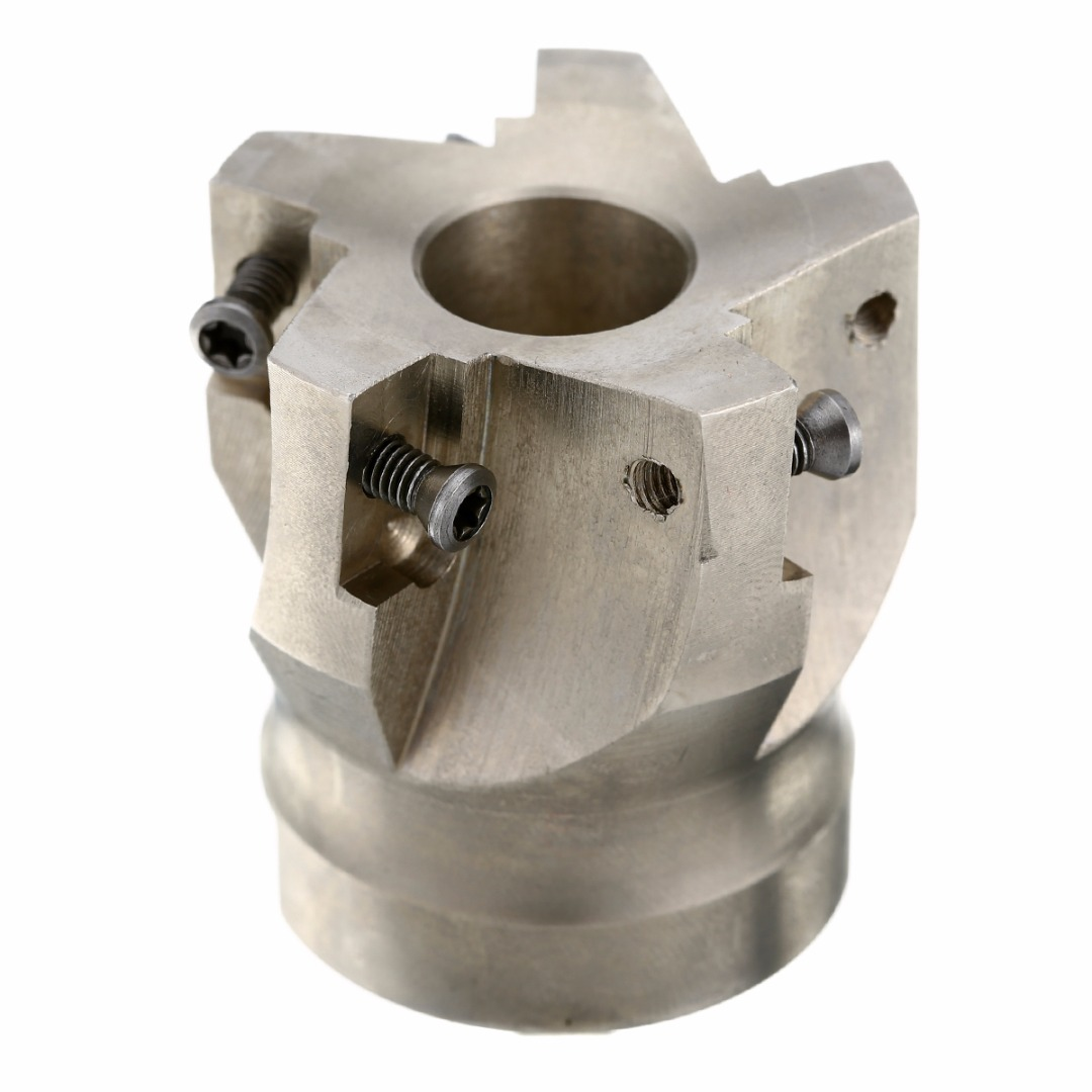 1pc Carbide Alloy BAP400R-50-22-5F Indexable Face Milling Cutter 50mm with T15 Wrench For APKT 1604 Inserts hot selling indexable profile milling cutter bmr01 020 xp20 s tool holder matched for carbide insert spmt060304 zdet08t2cyr10