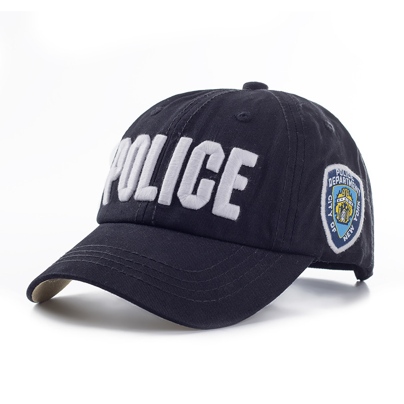 Police Tennis Cap 100% cotton Adults and children Men Tactical Cap Mens Baseball Caps Brand Snapback Trucker Hat For Man Women