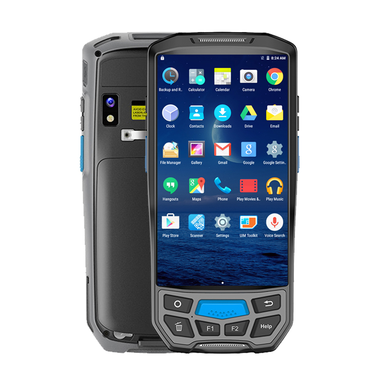 CARIBE 1D 2D Barcode Scanner Industrial PDA Wireless Android PDA with Built in Thermal Printer GPS QR Scanner Data Collector