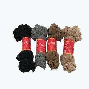 20 stücke = 10 Paar Sommer bambus weibliche Kurze Socken frauen socken Dünne Kristall Transparent Silk Socken Mädchen Ankle sox