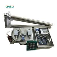 Cheap controlled semi automatic tripod turnstile mechanism