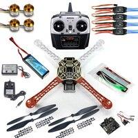 4 axle RC Multi QuadCopter Drone RTF ARF KK V2.3 Circuit board 1000KV Motor 30A ESC Lipo F450 Frame Kit 6ch TX Rx F02192 A