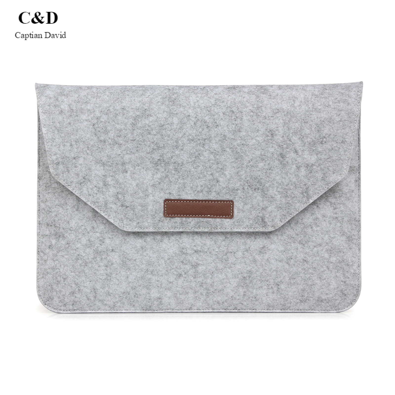 MacBook/iPad Gift Flat Sleeve Protective Case for Felt Apple Notebook Computer Bag