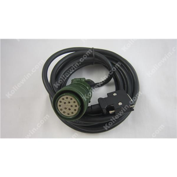 Free Shipping Compatible MR-JHSCBL5M-L Encoder Cable,OEM MRJHSCBL5M-L SERVO Cable for HA-FF-C-UE, HC-SFS, HC-RFS, MR-HENC new mr bks1cbl5m a1 l compatible mitsubishi servo brake cable 5m year warranty