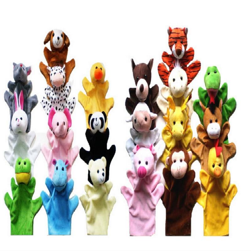 2016-Hot-Products-Jungle-Book-props-0-24-months-Baby-toys-Animal-hand-puppet-LionstigersducksmonkeysgiraffesrabbitsKoala-2