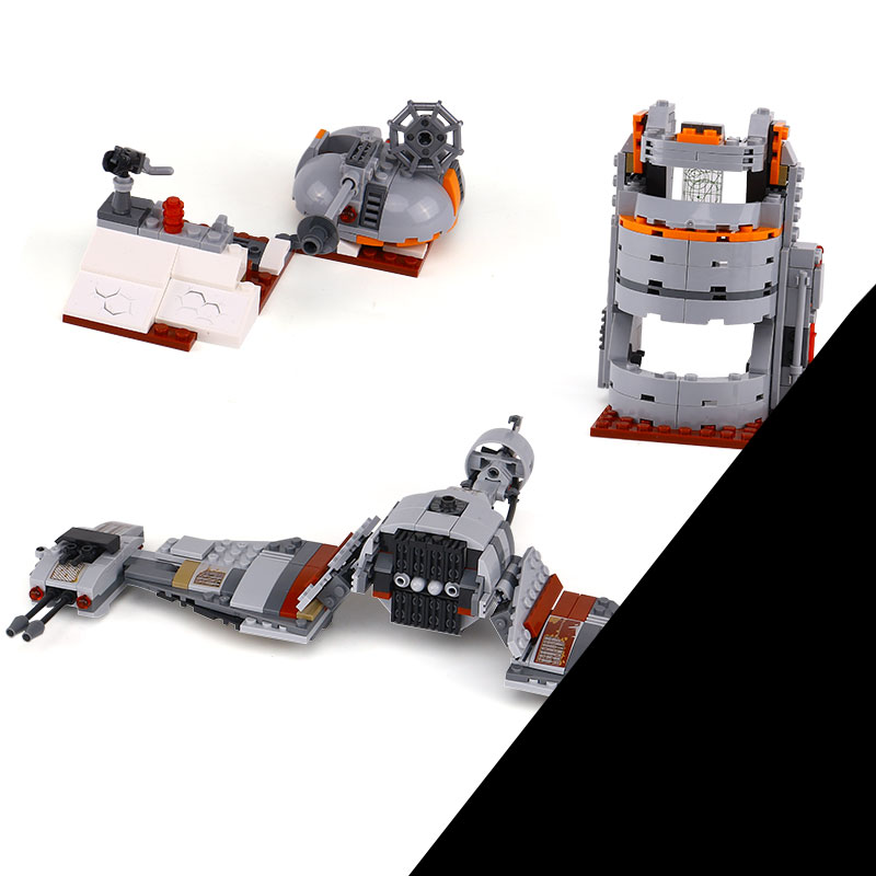 Lepin 05141 836Pcs Star Plan Series The Defense Of Crait Set 75202 Building Blocks Bricks legoinglys Toys For children As Gift black pearl building blocks kaizi ky87010 pirates of the caribbean ship self locking bricks assembling toys 1184pcs set gift