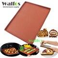Walfos estera para hornear de silicona de la categoría alimenticia diy multifunción cojín de la torta del rodillo suizo pad para hornear antiadherente revestimiento del horno para hornear herramientas