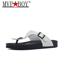 MVP BOY New 2019 Summer Style Shoes Woman Slides flats Sandal  Zapatos Mujer Casual Slippers Flip Flop Plus size 35-45
