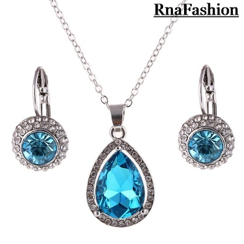 Genuine Austrian Crystal Pendant Necklace