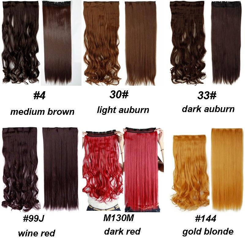 S-noilite, 18-28 дюймов, длинные волосы на заколках для наращивания, 1 шт., синтетические, настоящие натуральные волосы, 3/4, на всю голову, черный, коричневый