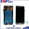 Para samsung galaxy j5 j500f j500m j500y negro/blanco/oro teléfono móvil lcd + touch screen reemplazo digitalizador