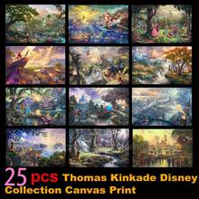 Томас кинкаде холст живопись сказочные персонажи искусство гостиной украшение стены мастер HD печать картины на холсте плакат