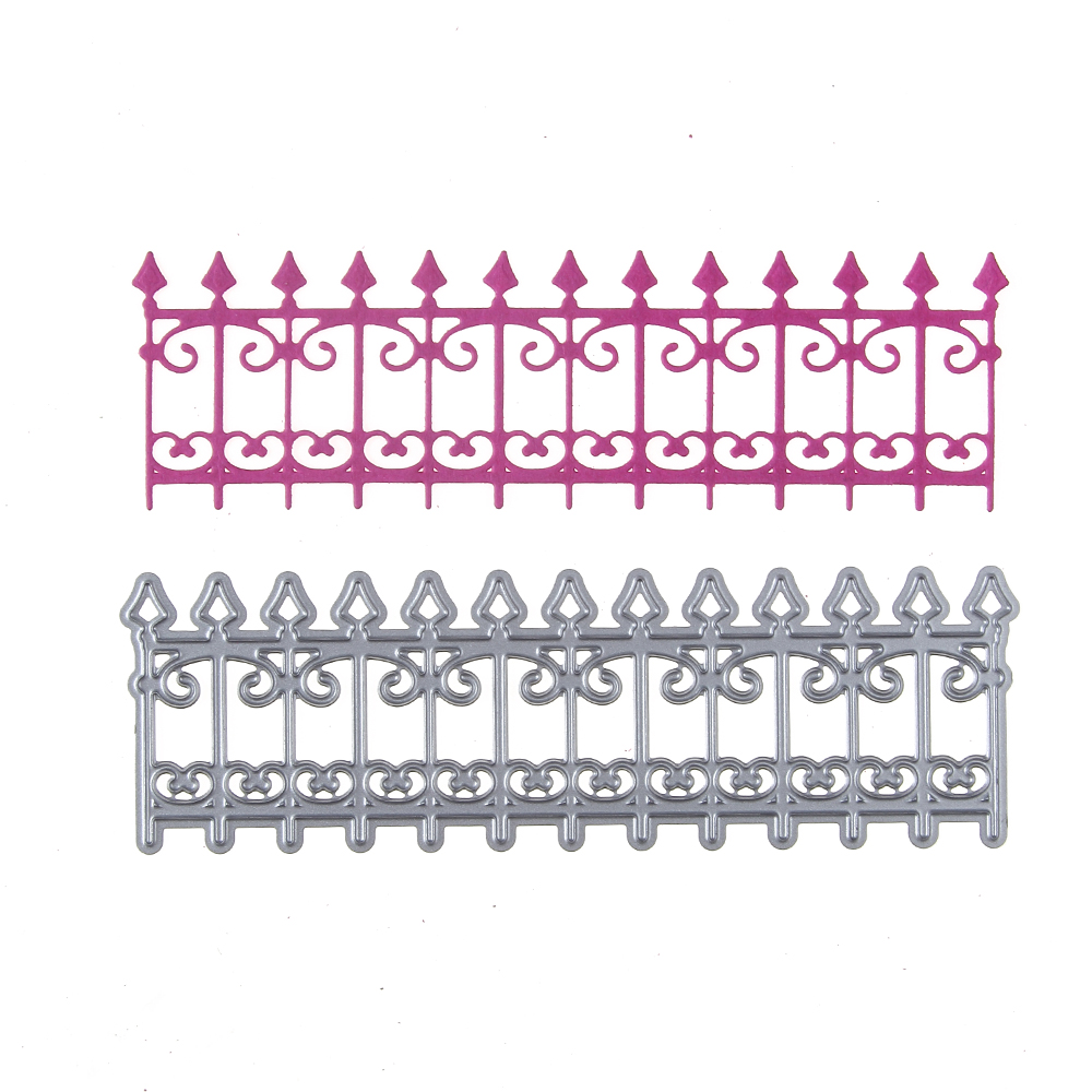 Scrapbooking & Stamping Duofen Metal Cutting Dies Railing Bar And Flag Tags Borders Stencils For Diy Craft Projects Embossing Scrapbook Paper Album Cheap Sales 50%