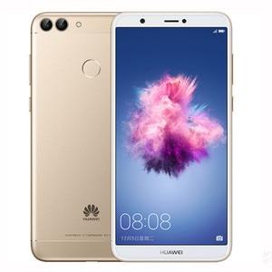 Image 2 - Huawei Godere 7S Huawei P smart 4GB 64GB Kirin 659 Android 8.0 schermo da 5.65 pollici 13.0 macchina fotografica di retrovisione di impronte digitali ID smart phone