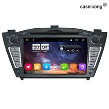 Android 6.0 Coches Reproductor de DVD para Hyundai IX35 Tucson 2011 2012 2013 CAR stereo Radio gps soporte 3g/WIFI OBD bluetooth cámara trasera