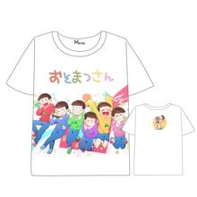 Hot Anime Osomatsu-san  Mr. Osomatsu san T shirt Men Women Short Sleeve Summer dress cartoon Tops Unisex Cosplay t shirt цена 2017