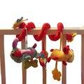 Jogo de cama carrinho de bebê móvel musical toys for tots bebê berço cama pendurado sino bebê chocalhos para crianças