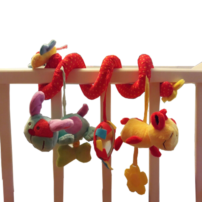 Baby Mobile Musical Bed Stroller Playing Crib Bed Hanging Bell Baby Toys for Tots Baby Rattles for Kids