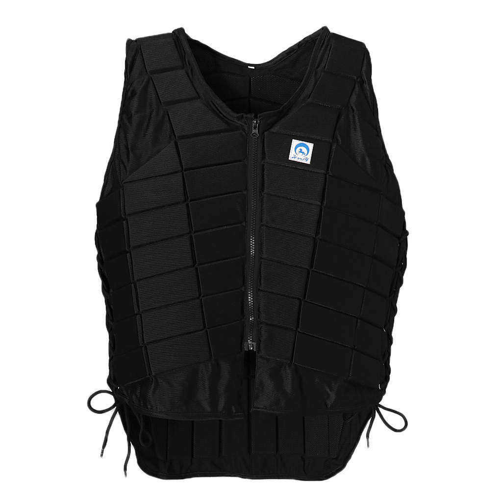Adjustable Pro Safety Equestrian Horse Riding Vest EVA Padded Body Protector S/M/L/XL/XXL for Men Kids Women Camping Hiking new heated down vest usb charging vest skiing hiking camping winter men vest down keep body warm blue black size s xxl