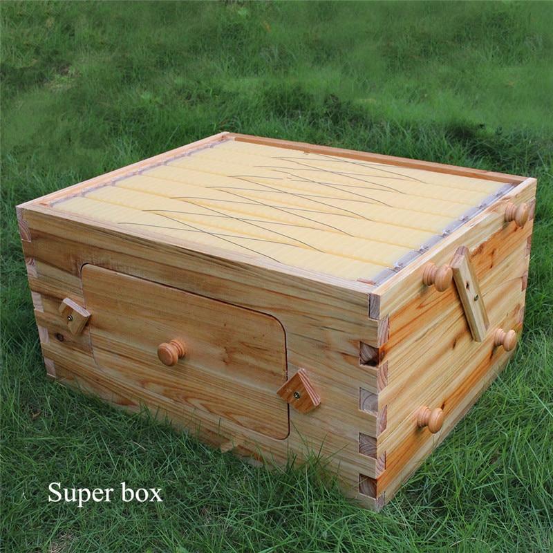Automatische 7 rahmen langstroth beehive fluss hive und super ...
