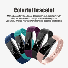 Buy ID11 Smart Bracelet Sport Bluetooth Wristband Heart Rate Monitor Watch Activity Fitness Tracker Smart Band directly from merchant!