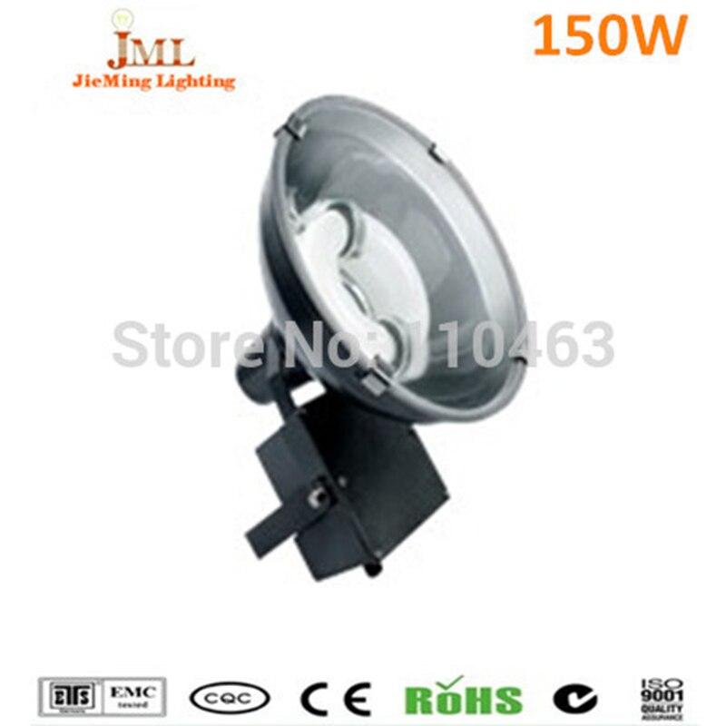 150 Вт высоких Бей Индукционная Наводнение лампа Наводнение светильник круглая форма 220 В туннель свет настенного IP65 Водонепроницаемый 5 год...