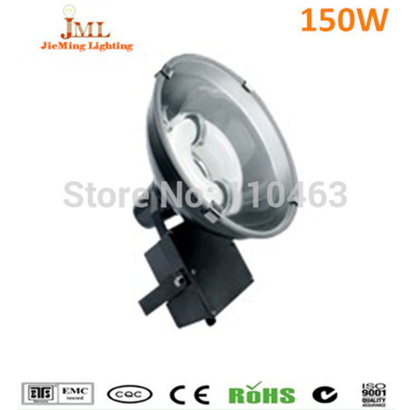150W high bay Induction flood lamp Flood fixture Round shape 220V Tunnel light Wall light IP65 Waterproof 5 years warranty
