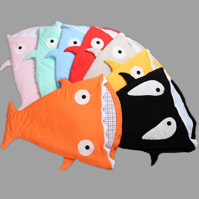 2017 New Baby Sleeping Bag Winter Newborns Sleeping Bag Strollers Bed Swaddle Blanket Wrap Cute Bedding Boys Sleeping Bag