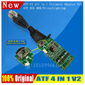 free shipping  ATF BOX JTAG/EMMC/ISP/MMC CARD ATF V3 4All in 1 Ultimate Adaptor For ATF BOX ATF GOLD BOX /Nitro/Lighting