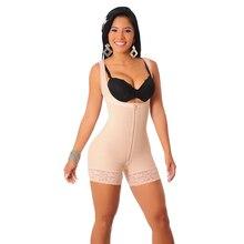 Plus la Taille S-6XL Femmes Lacets Minceur Taille Formateur Underbust Corset Shapewear Plein Corps Gaines Ouvert Buste Shaper Body