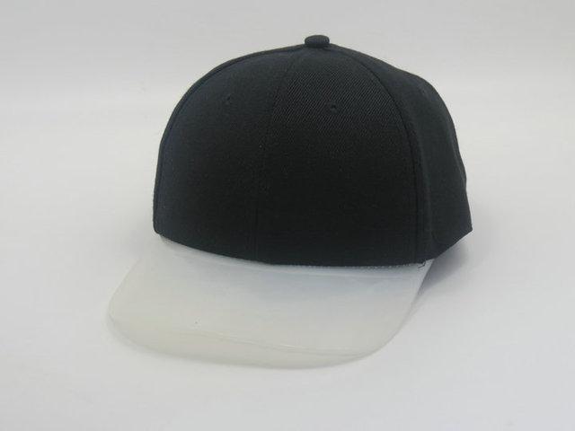 Blank Snapback hats Transparent plastic brim Brand casquette cheap summer  casual men women hip hop baseball caps d8b6cc75c42