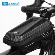 INBIKE Top Tube Bike Bag Bicycle Panniers Frame Front Waterproof  Cycling MTB Road Storage Shockproof Accessories