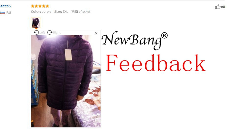 NEWBANG 8XL Plus Coats 4
