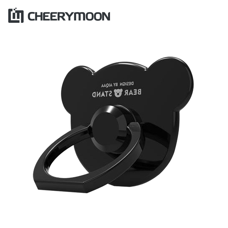 CHEERYMOON 360 Degree Finger Ring Mobile Phone Smartphone Stand Holder For iPhone iPad Xiaomi All Smart Phone Couple Models