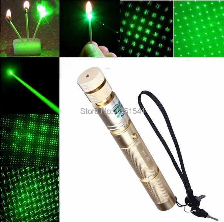 Сильный ААА Горящая Спичка 532nm 50 Вт 50000 МВт Высокой Мощности Военной светодиодный фонарик Зеленые Лазерные Указки Свет Луч сжечь сигарет