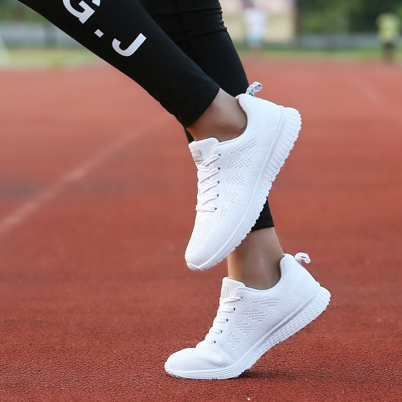 Air Cushion Original Breathable Sneakers Women Summer Springs Athletic Outdoor Sports Entertainment Shoes Women Running Shoes 30