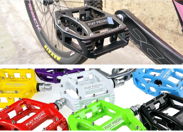 Magnesium alloy Road Bike Pedals Ultralight MTB Bearing Bicycle Pedal Bike Parts Accessories 8 color optional цена 2017