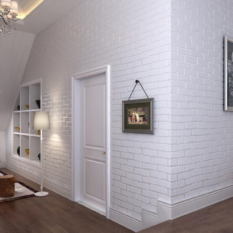 Faux Brick Wallpaper 3d Embossed 3d Brick Wall Paper Modern Vintage Brick Stone