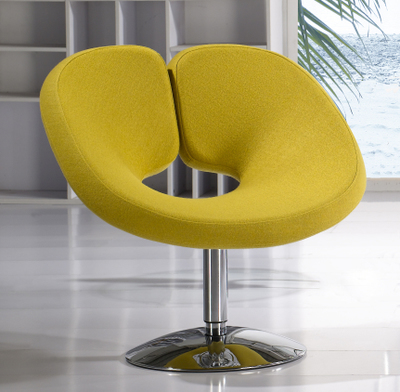 Villa dining chair yellow color furniture market stool retail wholesale free shipping bedroom chair