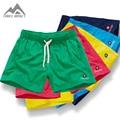 Nova Secagem Rápida Board Shorts Moda Casual Shorts dos homens Sexy Verão Cintura Elástica Fresco Calções Homewear PF53 Dropshopping
