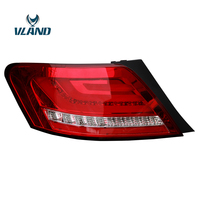 VLAND Factory For Car Tail Light For Toyota Mark X LED Taillight 2005 2006 2007 2008 2009Reiz Tail Lamp With Red And Black Color