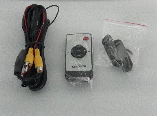 9 pulgadas 16:9 Universal HD TFT Color LCD reposacabezas monitores para coche reproductor de DVD con control remoto y 2 entradas de vídeo bidireccional - 5