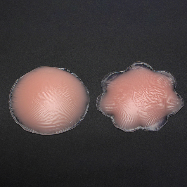 HOT Sale 1 Pair Silicone Nipple Cover Bra Pad Skin Adhesive Reusable Invisible Breast Petals for Party Dress